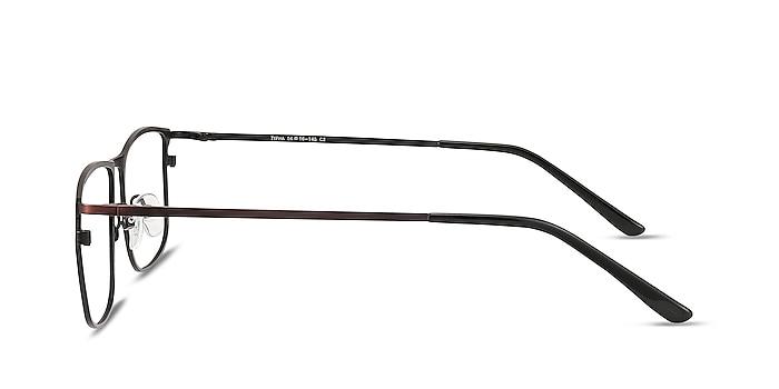 Typha Red Metal Eyeglass Frames from EyeBuyDirect