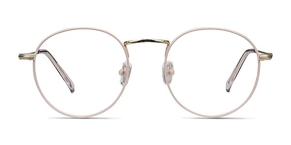 Wistful Matte Pink Métal Montures de lunettes de vue