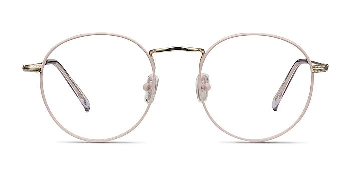 Wistful Matte Pink Métal Montures de lunettes de vue d'EyeBuyDirect
