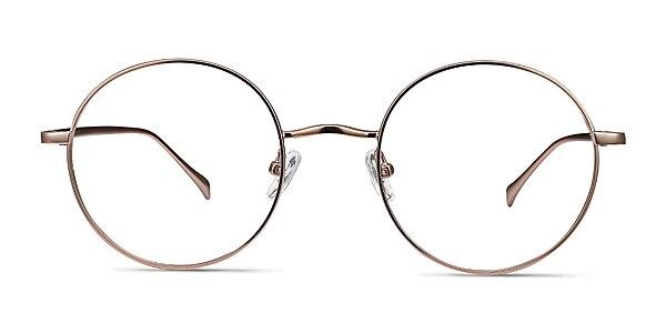 Synapse Rose Gold Métal Montures de lunettes de vue