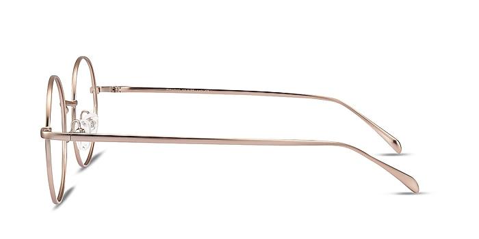 Synapse Rose Gold Metal Eyeglass Frames from EyeBuyDirect