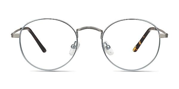 Cupertino Frost Blue Metal Eyeglass Frames