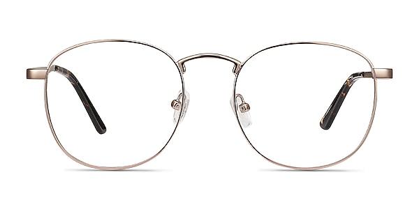 St Michel Rose Gold Métal Montures de lunettes de vue