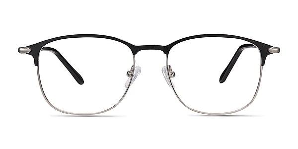 Cella Black Metal Eyeglass Frames