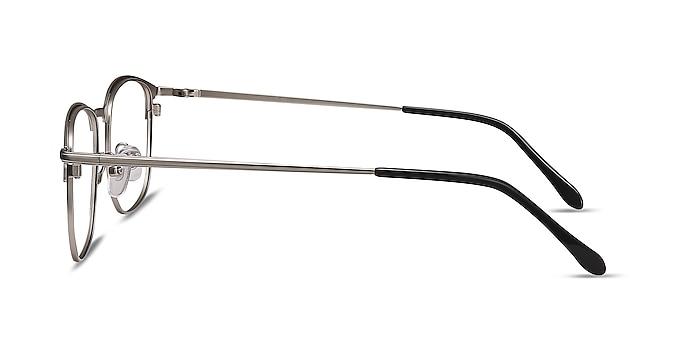 Cella Black Metal Eyeglass Frames from EyeBuyDirect