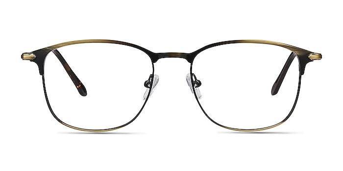 Cella Bronze Metal Eyeglass Frames from EyeBuyDirect