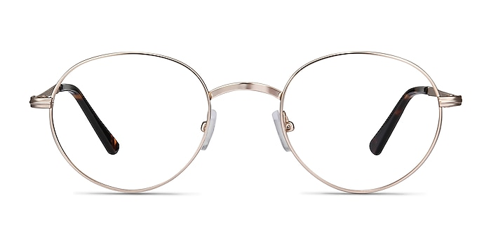 Izabel Golden Metal Eyeglass Frames from EyeBuyDirect