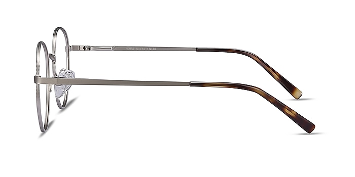 Nomad Silver Metal Eyeglass Frames from EyeBuyDirect