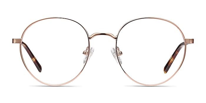 Nomad Rose Gold Metal Eyeglass Frames from EyeBuyDirect