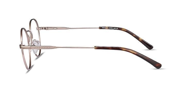 Memento Rose Gold Metal Eyeglass Frames from EyeBuyDirect