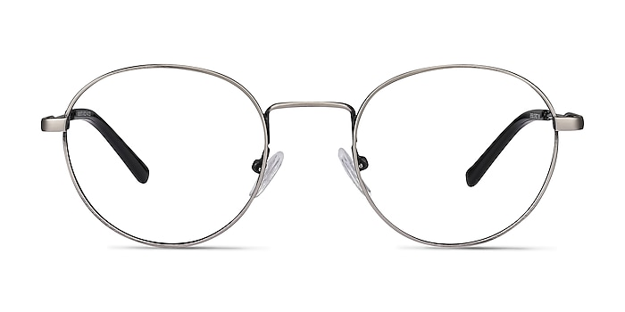 Memento Gunmetal Metal Eyeglass Frames from EyeBuyDirect