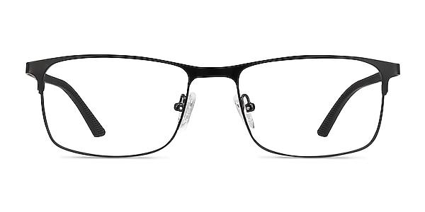 Wit Black Metal Eyeglass Frames
