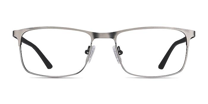 Wit Gunmetal Metal Eyeglass Frames from EyeBuyDirect