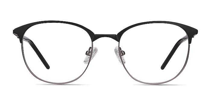 Perceive Black Gunmetal Métal Montures de lunettes de vue d'EyeBuyDirect