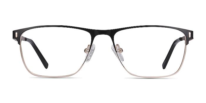 Media Noir Métal Montures de lunettes de vue d'EyeBuyDirect