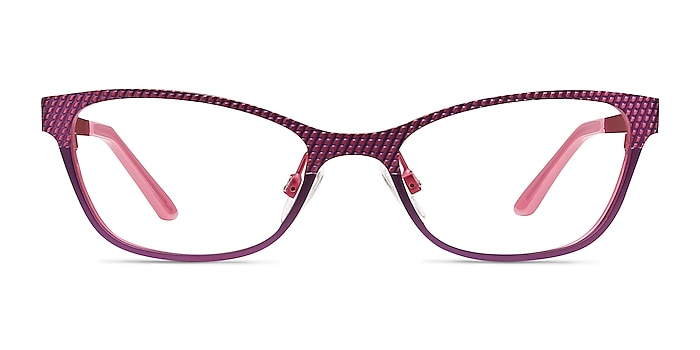 Mardi Gras Rose Métal Montures de lunettes de vue d'EyeBuyDirect