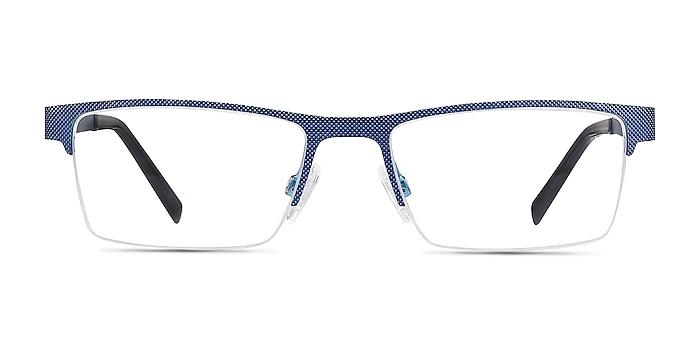 Vine Bleu Métal Montures de lunettes de vue d'EyeBuyDirect
