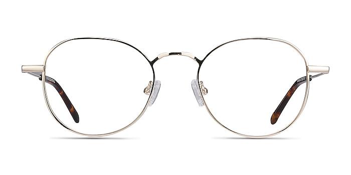 Cori Golden Métal Montures de lunettes de vue d'EyeBuyDirect