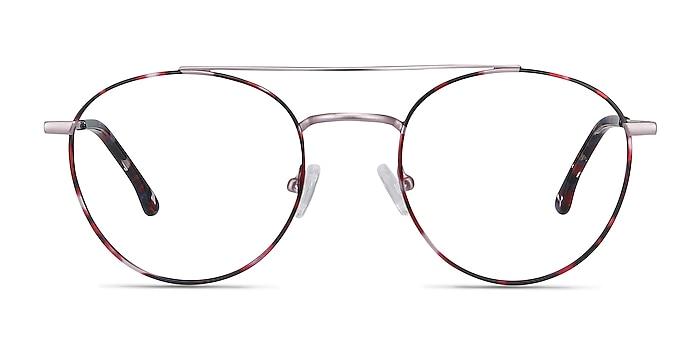 Earhart Red Tortoise Métal Montures de lunettes de vue d'EyeBuyDirect