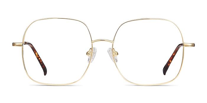 Movement Golden Metal Eyeglass Frames from EyeBuyDirect