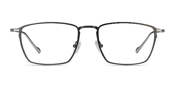 Wind Gunmetal Metal Eyeglass Frames