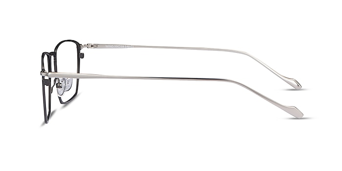 Wind Gunmetal Métal Montures de lunettes de vue d'EyeBuyDirect