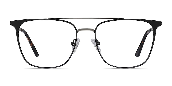 Contact Black Metal Eyeglass Frames from EyeBuyDirect