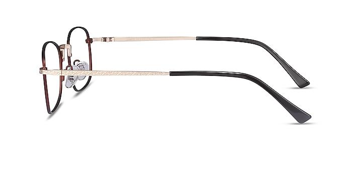 Tampa Red Metal Eyeglass Frames from EyeBuyDirect