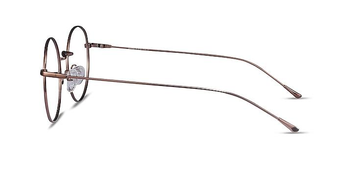 Dapper Café Métal Montures de lunettes de vue d'EyeBuyDirect