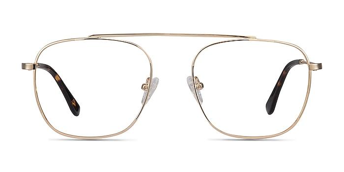 Moxie Golden Métal Montures de lunettes de vue d'EyeBuyDirect