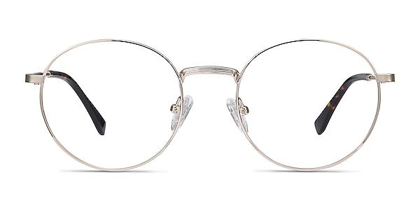 Bistro Golden Metal Eyeglass Frames