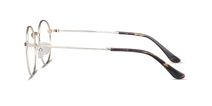 Bistro Golden Metal Eyeglass Frames from EyeBuyDirect