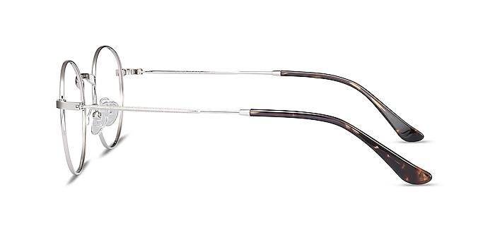 Bistro Silver Metal Eyeglass Frames from EyeBuyDirect