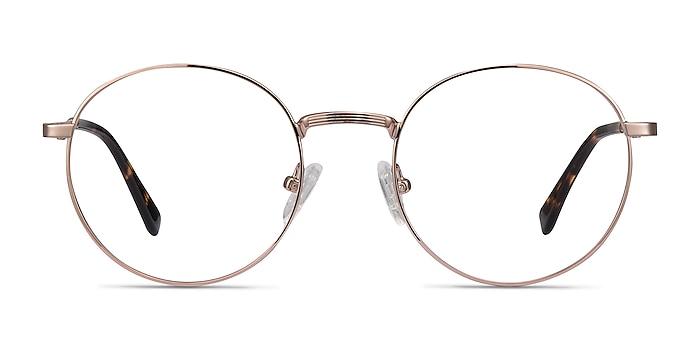 Bistro Rose Gold Métal Montures de lunettes de vue d'EyeBuyDirect
