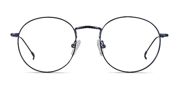 Novel Bleu marine  Métal Montures de lunettes de vue