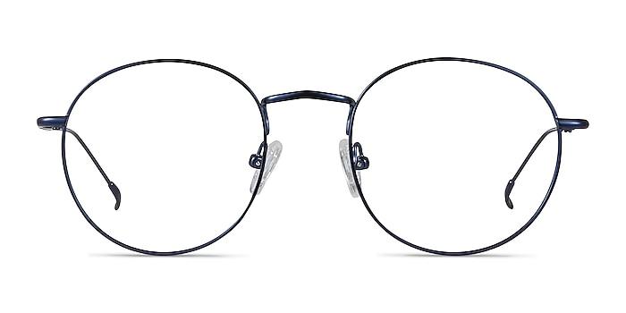 Novel Bleu marine  Métal Montures de lunettes de vue d'EyeBuyDirect