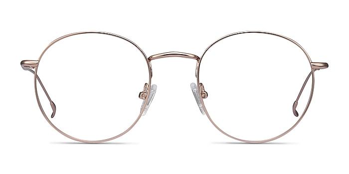 Novel Rose Gold Metal Eyeglass Frames from EyeBuyDirect