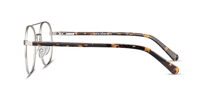 Lock XL Argenté Métal Montures de lunettes de vue d'EyeBuyDirect