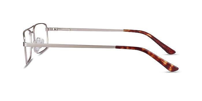 Maverick Silver Metal Eyeglass Frames from EyeBuyDirect
