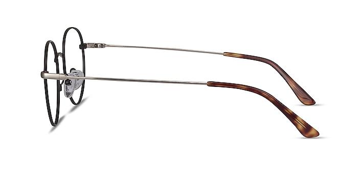 Retell Black Metal Eyeglass Frames from EyeBuyDirect