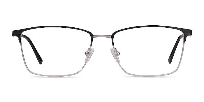 Castle Black Metal Eyeglass Frames from EyeBuyDirect