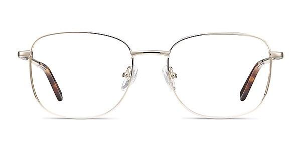 Aspect Golden Métal Montures de lunettes de vue