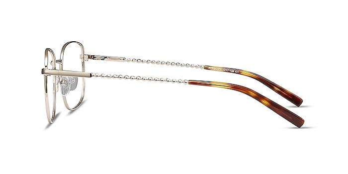 Aspect Golden Métal Montures de lunettes de vue d'EyeBuyDirect
