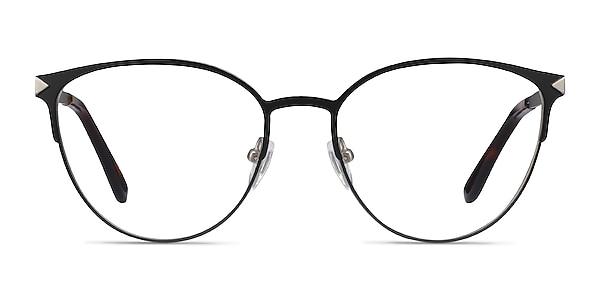 Nadia Black Metal Eyeglass Frames