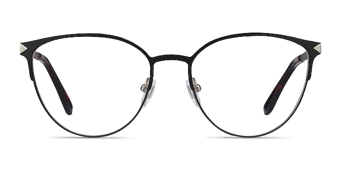 Nadia Black Metal Eyeglass Frames from EyeBuyDirect