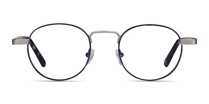 Orbit Blue Acetate-metal Eyeglass Frames from EyeBuyDirect