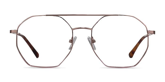 Eight Rose Gold Métal Montures de lunettes de vue d'EyeBuyDirect