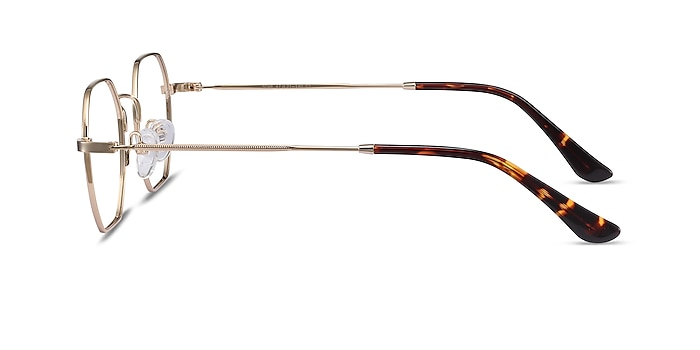 Soar Golden Métal Montures de lunettes de vue d'EyeBuyDirect