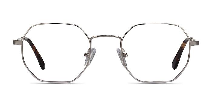 Soar Silver Metal Eyeglass Frames from EyeBuyDirect