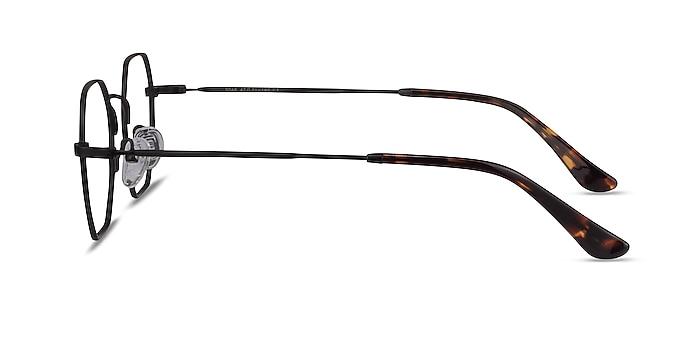 Soar Noir Métal Montures de lunettes de vue d'EyeBuyDirect